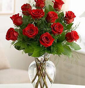 Ramos-de-Flores-Rojas pequeñas