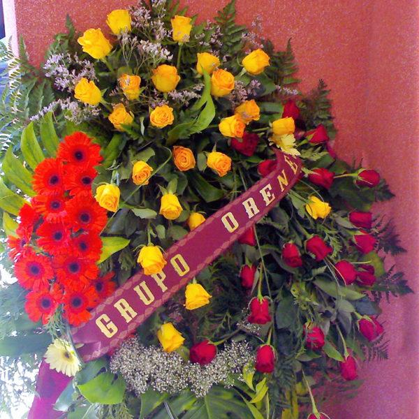 corona funebre grande 250€