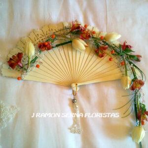 ramo de novia en abanico 180€